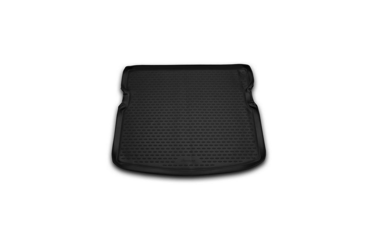 Коврик в багажник автомобиля Novline-Autofamily для SsangYong Kyron, 2005 -NLC.61.09.B12Автомобильный коврик в багажник позволит вам без особых усилий содержать в чистоте багажный отсек вашего авто и при этом перевозить в нем абсолютно любые грузы. Такой автомобильный коврик гарантированно защитит багажник вашего автомобиля от грязи, мусора и пыли, которые постоянно скапливаются в этом отсеке. А кроме того, поддон не пропускает влагу. Все это надолго убережет важную часть кузова от износа. Мыть коврик для багажника из полиуретана можно любыми чистящими средствами или просто водой. При этом много времени уборка не отнимет, ведь полиуретан устойчив к загрязнениям. Если вам приходится перевозить в багажнике тяжелые грузы, за сохранность автоковрика можете не беспокоиться. Он сделан из прочного материала, который не деформируется при механических нагрузках и устойчив даже к экстремальным температурам. А кроме того, коврик для багажника надежно фиксируется и не сдвигается во время поездки - это дополнительная гарантия сохранности вашего багажа.