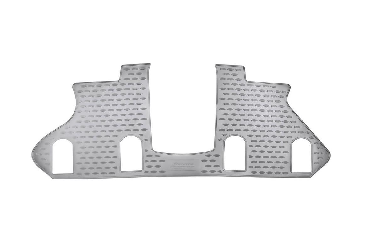Коврик в салон автомобиля Novline-Autofamily для Infiniti QX56, 2010 -, под 2-й ряд сиденийNLC.76.10.210Коврик Novline-Autofamily улучшит внешний вид салона автомобиля и надежно убережет его от пыли, грязи и сырости, а значит, защитит кузов от коррозии. Полиуретановый коврик гладкий, приятный и не пропускает влагу. Полиуретановый автомобильный коврик произведен из высококачественного материала, который держит форму и не пачкает обувь. Коврик надежно крепится на полу и не скользит. Изделие из полиуретана надежно удерживает грязь и влагу, при этом всегда выглядит довольно опрятно. И чистится он очень просто: как при помощи автомобильного пылесоса, так и различными моющими средствами.