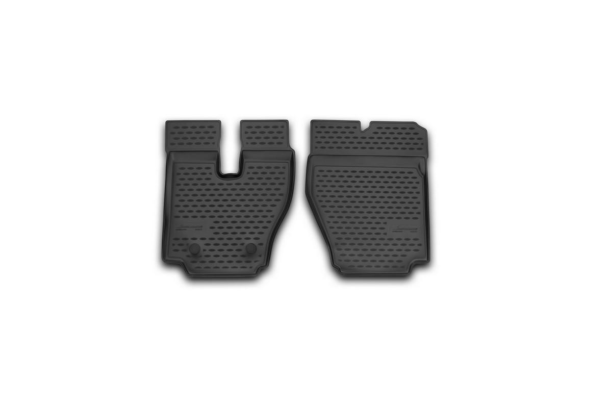 Набор автомобильных ковриков Novline-Autofamily для Hino 700 2014-, в салон, 2 штVT-1520(SR)Набор автомобильных ковриков Novline-Autofamily, изготовленный из полиуретана, состоит из 2 ковриков, которые учитывают все особенности каждой модели автомобиля и полностью повторяют контуры пола. Полиуретановые автомобильные коврики для салона произведены из высококачественного материала, который держит форму, прочный и не пачкает обувь. Коврики в салон не только улучшат внешний вид салона вашего автомобиля, но и надежно уберегут его от пыли, грязи и сырости, а значит, защитят кузов от коррозии. Полиуретановые коврики для автомобиля гладкие, приятные и не пропускают влагу. Ковры для автомобилей надежно крепятся на полу и не скользят, что очень важно во время движения. Чистятся коврики очень просто: как при помощи автомобильного пылесоса, так и различными моющими средствами. Набор подходит для Hino 700 с 2014 года выпуска.