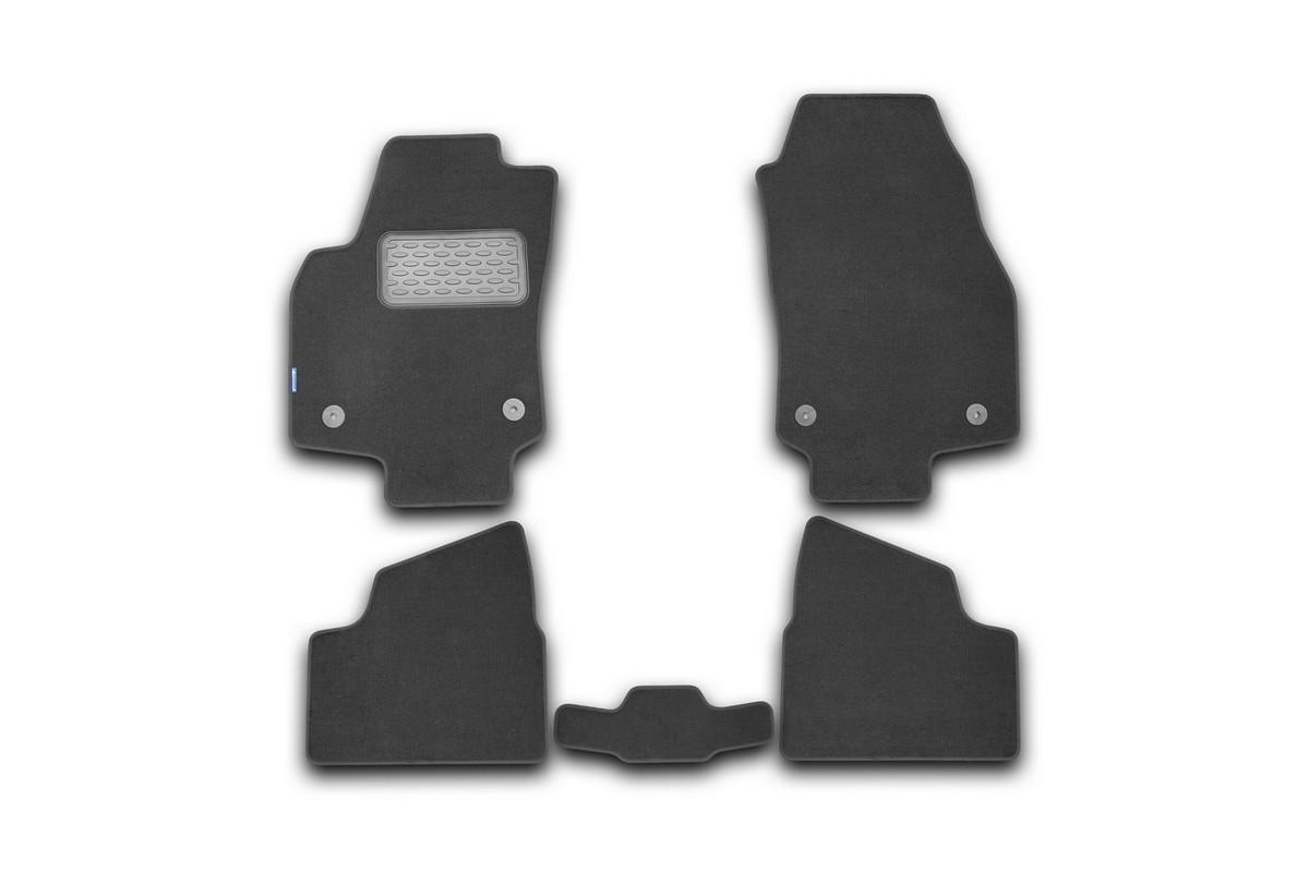 Набор автомобильных ковриков Novline-Autofamily для Opel Astra H Caravan 2004-, универсал, в салон, 5 штVT-1520(SR)Набор автомобильных ковриков Novline-Autofamily, изготовленный из текстиля, состоит из 5 ковриков, которые учитывают все особенности каждой модели автомобиля и полностью повторяют контуры пола. Текстильные автомобильные коврики для салона произведены из высококачественного материала, который держит форму, прочный и не пачкает обувь. Коврики в салон не только улучшат внешний вид салона вашего автомобиля, но и надежно уберегут его от пыли, грязи и сырости, а значит, защитят кузов от коррозии. Текстильные коврики для автомобиля мягкие и приятные, а их основа из вспененного полиуретана не пропускает влагу. Ковры для автомобилей надежно крепятся на полу и не скользят, что очень важно во время движения. Чистятся коврики очень просто: как при помощи автомобильного пылесоса, так и различными моющими средствами. Набор подходит для Opel Astra H Caravan универсал с 2004 года выпуска.