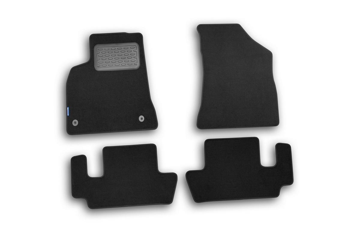 Набор автомобильных ковриков Novline-Autofamily для Peugeot 3008 2008-, универсал, в салон, 4 штNLT.38.19.11.110khНабор автомобильных ковриков Novline-Autofamily, изготовленный из текстиля, состоит из 4 ковриков, которые учитывают все особенности каждой модели автомобиля и полностью повторяют контуры пола. Текстильные автомобильные коврики для салона произведены из высококачественного материала, который держит форму, прочный и не пачкает обувь. Коврики в салон не только улучшат внешний вид салона вашего автомобиля, но и надежно уберегут его от пыли, грязи и сырости, а значит, защитят кузов от коррозии. Текстильные коврики для автомобиля мягкие и приятные, а их основа из вспененного полиуретана не пропускает влагу. Ковры для автомобилей надежно крепятся на полу и не скользят, что очень важно во время движения. Чистятся коврики очень просто: как при помощи автомобильного пылесоса, так и различными моющими средствами. Набор подходит для Peugeot 3008 универсал с 2008 года выпуска.