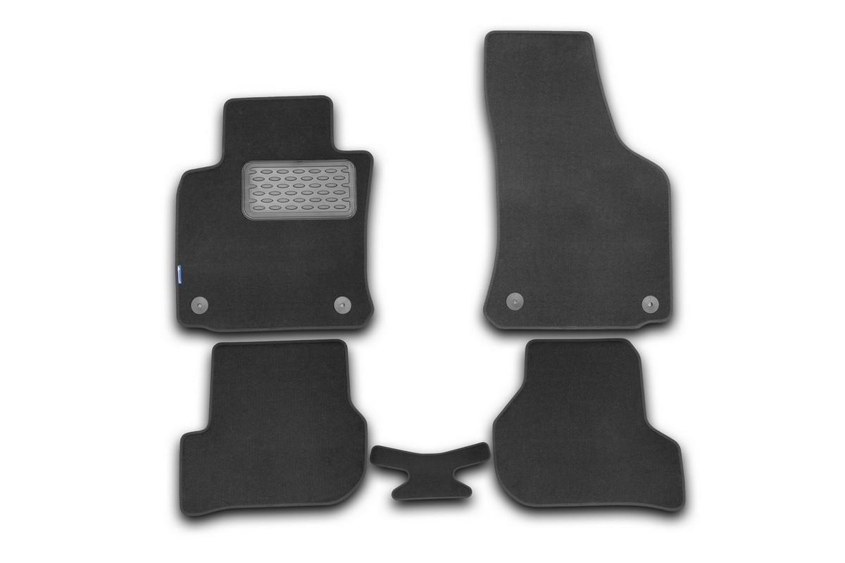 Набор автомобильных ковриков Novline-Autofamily для Skoda Octavia 2008-, седан, в салон, 5 штNLT.45.08.11.110khНабор автомобильных ковриков Novline-Autofamily, изготовленный из текстиля, состоит из 5 ковриков, которые учитывают все особенности каждой модели автомобиля и полностью повторяют контуры пола. Текстильные автомобильные коврики для салона произведены из высококачественного материала, который держит форму, прочный и не пачкает обувь. Коврики в салон не только улучшат внешний вид салона вашего автомобиля, но и надежно уберегут его от пыли, грязи и сырости, а значит, защитят кузов от коррозии. Текстильные коврики для автомобиля мягкие и приятные, а их основа из вспененного полиуретана не пропускает влагу. Ковры для автомобилей надежно крепятся на полу и не скользят, что очень важно во время движения. Чистятся коврики очень просто: как при помощи автомобильного пылесоса, так и различными моющими средствами. Набор подходит для Skoda Octavia седан с 2008 года выпуска.
