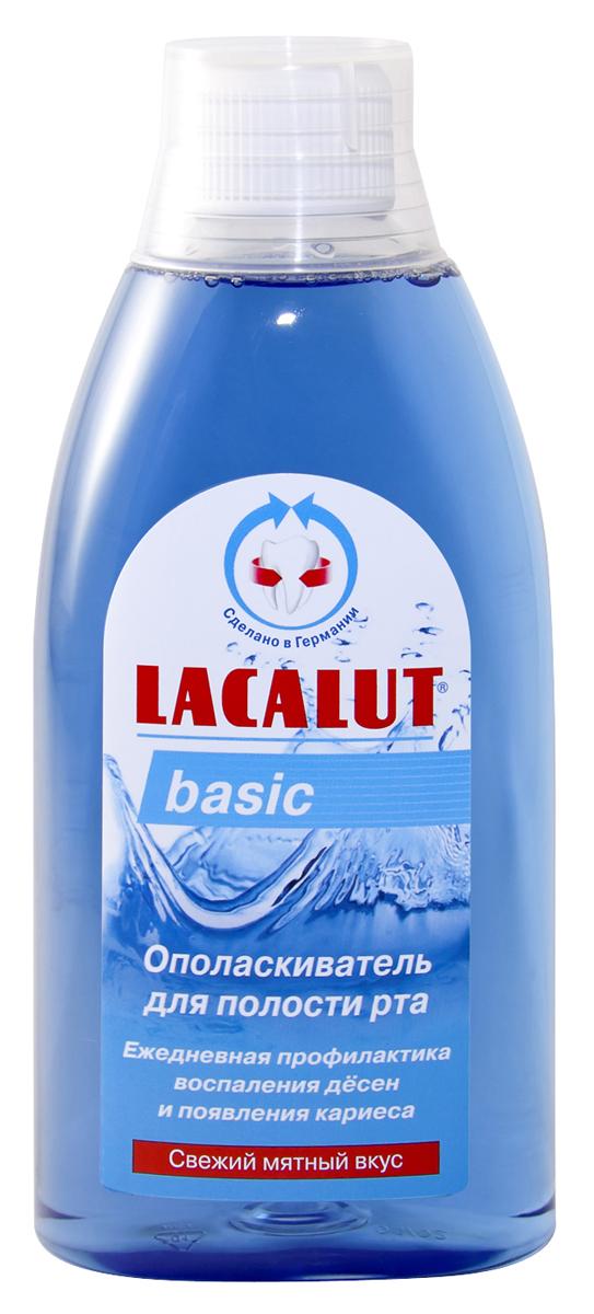 Lacalut Ополаскиватель для рта Basiс 500мл15980540Ополаскиватель Lacalut для рта Бейсик сохраняет природную белизну зубов. Предотвращает образование зубного камня. Устраняет неприятный запах изо рта. Снижает уровень воспаления дёсен. Ополаскиватель предназначен для ежедневного ухода за гигиеной всей полости рта. Благодаря комбинации активных веществ, сокращает степень образования бактериального налета. Не заменим при использовании зубных протезов. Не требует разбавления водой.