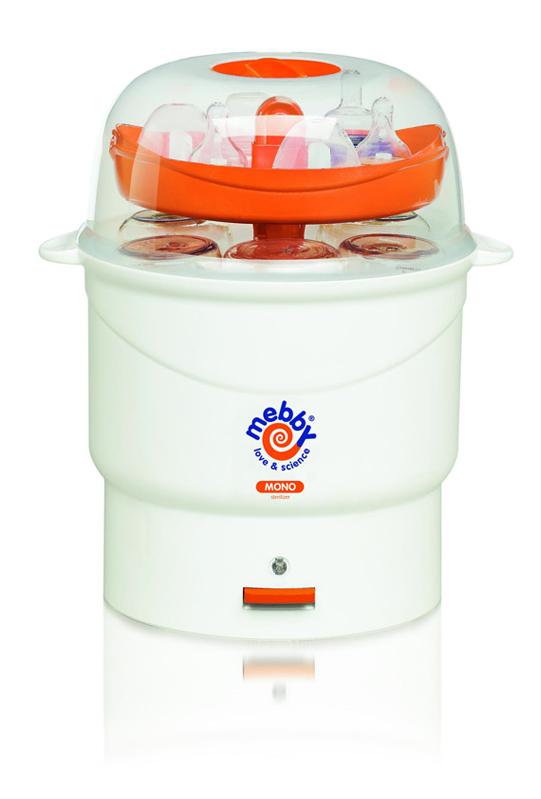 Mebby Моно стерилизатор цвет оранжевый, белый