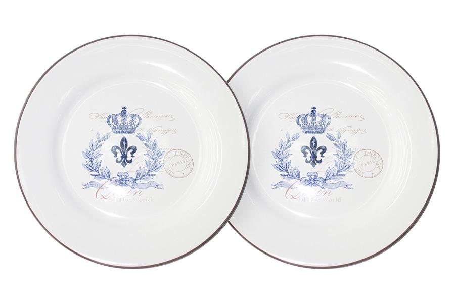 Набор десертных тарелок LF Ceramic Королевский, диаметр 20 см, 2 штLF-55E2258-2-ALНабор LF Ceramic Королевский состоит из двух десертных тарелок, изготовленных из высококачественной керамики. Яркий дизайн изделий, несомненно, придется вам по вкусу. Набор LF Ceramic Королевский украсит ваш кухонный стол, а также станет замечательным подарком к любому празднику. Диаметр (по верхнему краю): 20 см.
