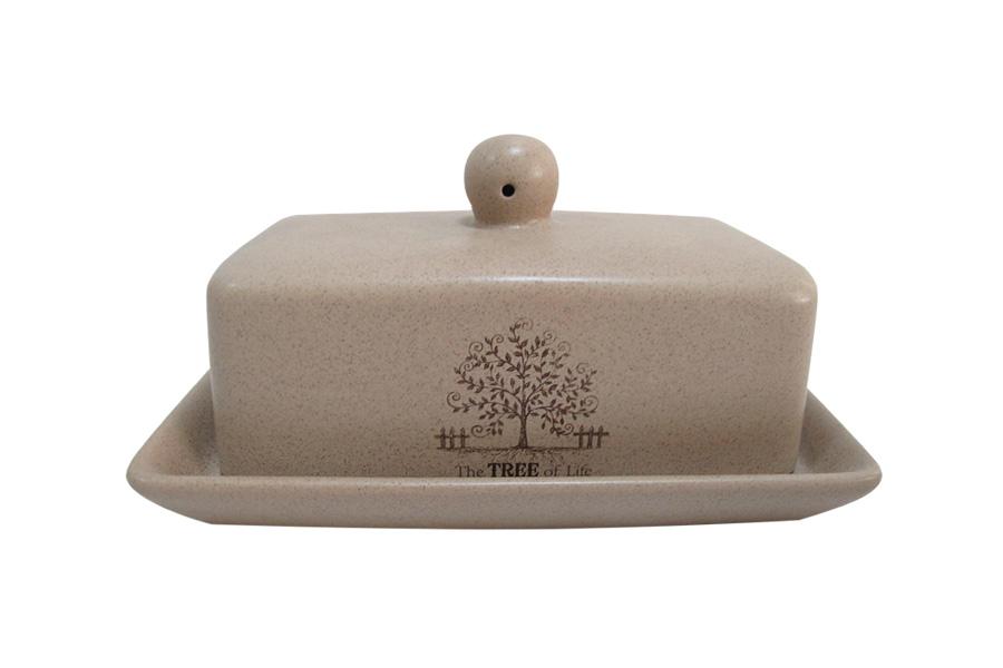 Масленка Terracotta Дерево жизниVT-1520(SR)Великолепная масленка Terracotta Шеф-повар, выполненная из высококачественной керамики, предназначена для красивой сервировки и хранения масла. Она состоит из подноса и крышки. Масло в ней долго остается свежим, а при хранении в холодильнике не впитывает посторонние запахи. Масленка Terracotta Шеф-повар идеально подойдет для сервировки стола и станет отличным подарком к любому празднику.