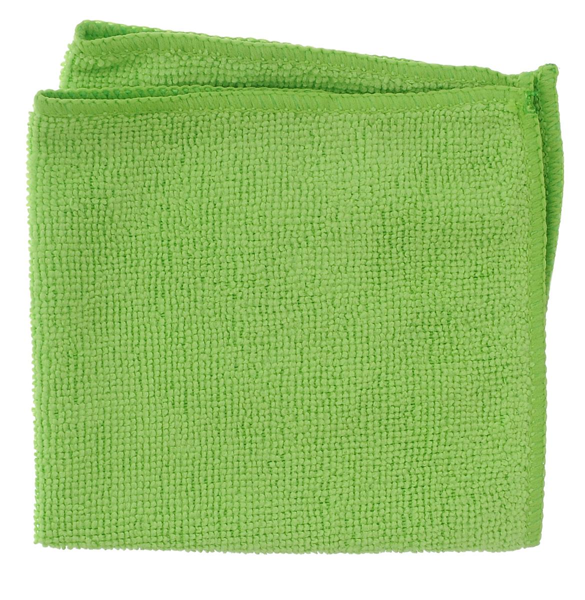 Салфетка универсальная Celesta, из микрофибры, цвет: салатовый, 30 см х 30 см4660_салатовыйСалфетка Celesta, изготовленная из микрофибры (80% полиэстера и 20% полиамида), предназначена для сухой и влажной уборки. Подходит для ухода за любыми поверхностями. Благодаря специальной структуре волокон справляется с загрязнениями без использования моющих средств. Не оставляет разводов и ворсинок. Обладает отличными впитывающими свойствами. Размер салфетки: 30 см х 30 см.