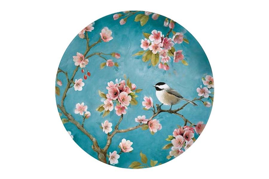 Тарелка десертная Nuova R2S Сакура, диаметр 19 смR2S324/BLOS-ALТарелка десертная Nuova R2S Сакура, выполненная из высококачественного фарфора, имеет изысканный дизайн. Изделие декорировано красочным изображением птички на ветке с сакурой. Дизайн изделия придется по вкусу ценителям классических утонченных вещей. Тарелка предназначена для подачи десертов. Тарелка десертная Nuova R2S Сакура идеально подойдет для сервировки стола и станет отличным подарком к любому празднику. Диаметр тарелки (по верхнему краю): 19 см.