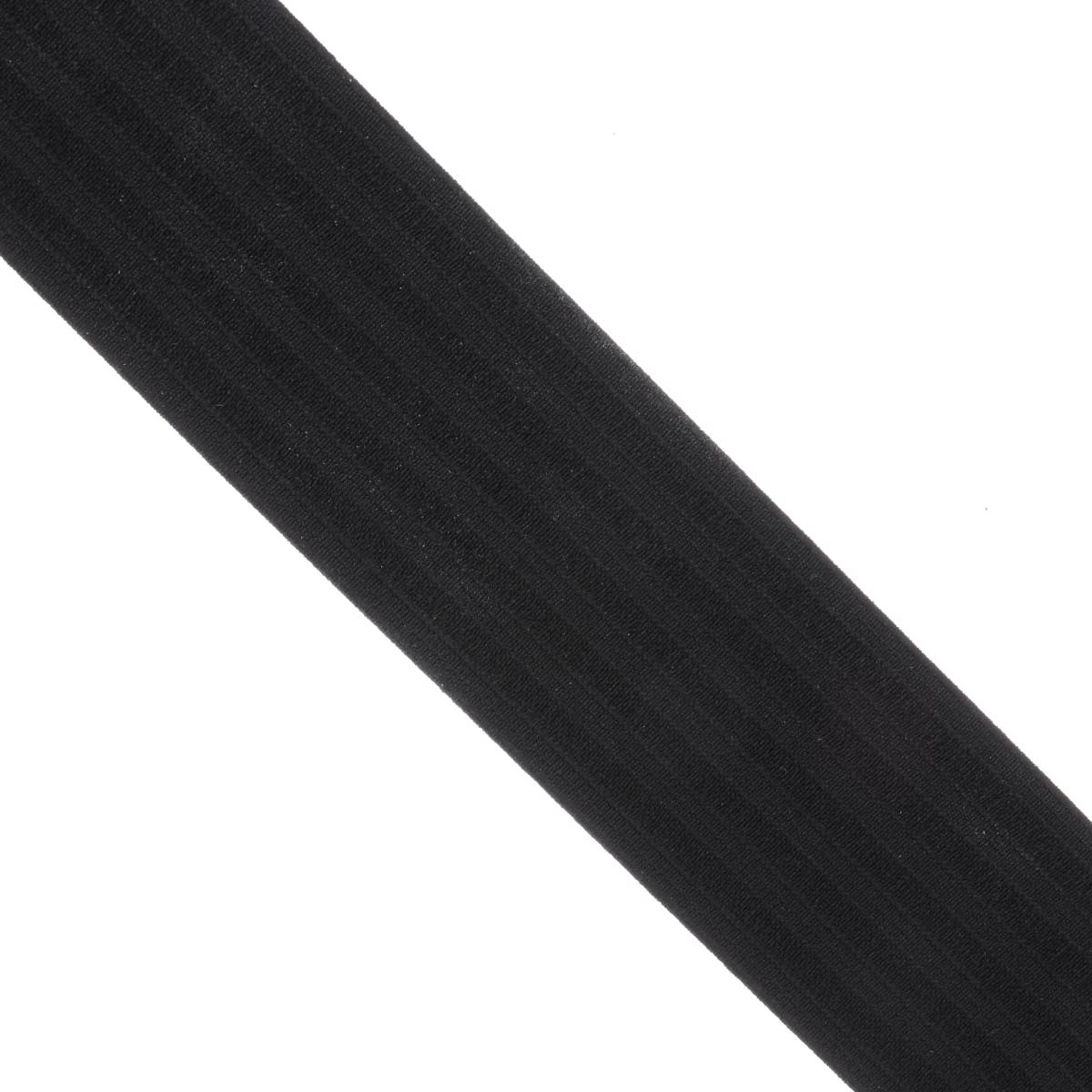 Лента эластичная Prym, для уплотнения шва, цвет: черный, ширина 5 см, длина 10 м693546Эластичная лента Prym предназначена для уплотнения шва. Выполнена из полиэстера (80%) и эластомера (20%). Ткань прочная, стабильная, облегчает равномерное притачивание внутренней отделки. Длина ленты: 10 м. Ширина ленты: 5 см.