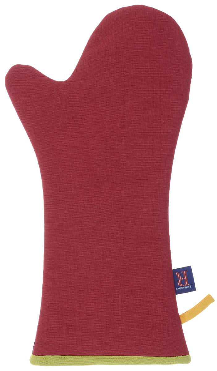 Варежка-прихватка длинная Rushbrookers Квадраты, цвет: красный, фиолетовый16160552Длинная варежка-прихватка Rushbrookers Квадраты изготовлена из высококачественного хлопка, внутри - наполнитель из полиэстера. Прихватка мягкая, прочная и износоустойчивая, она сбережет ваши руки при контакте с горячими предметами и обеспечит комфортное приготовление блюд в духовке. Прихватка снабжена петелькой, благодаря которой ее можно повесить на крючок.