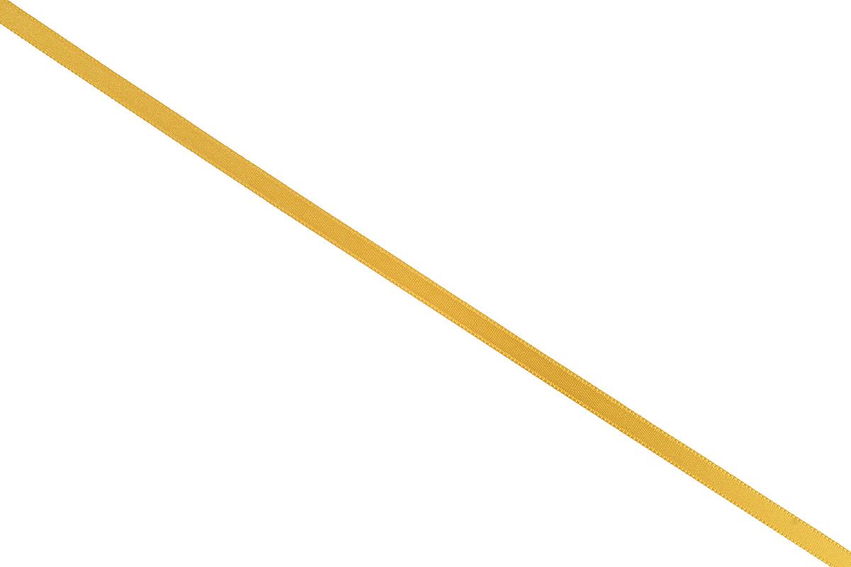 Лента атласная Prym, цвет: золотистый, ширина 6 мм, длина 25 м697070_20Атласная лента Prym изготовлена из 100% полиэстера. Область применения атласной ленты весьма широка. Изделие предназначено для оформления цветочных букетов, подарочных коробок, пакетов. Кроме того, она с успехом применяется для художественного оформления витрин, праздничного оформления помещений, изготовления искусственных цветов. Ее также можно использовать для творчества в различных техниках, таких как скрапбукинг, оформление аппликаций, для украшения фотоальбомов, подарков, конвертов, фоторамок, открыток и многого другого. Ширина ленты: 6 мм. Длина ленты: 25 м.