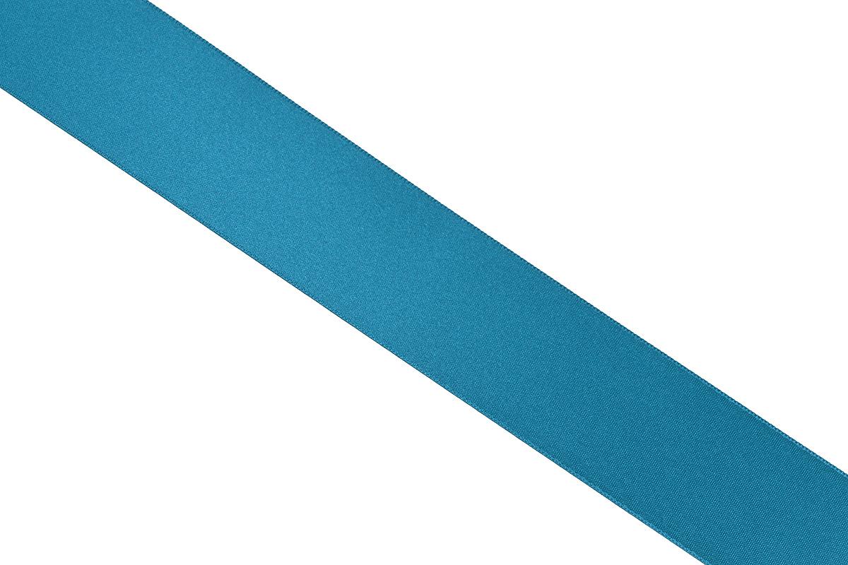 Лента атласная Prym, цвет: темно-бирюзовый, ширина 38 мм, длина 25 м695806_50Атласная лента Prym изготовлена из 100% полиэстера. Область применения атласной ленты весьма широка. Изделие предназначено для оформления цветочных букетов, подарочных коробок, пакетов. Кроме того, она с успехом применяется для художественного оформления витрин, праздничного оформления помещений, изготовления искусственных цветов. Ее также можно использовать для творчества в различных техниках, таких как скрапбукинг, оформление аппликаций, для украшения фотоальбомов, подарков, конвертов, фоторамок, открыток и многого другого. Ширина ленты: 38 мм. Длина ленты: 25 м.