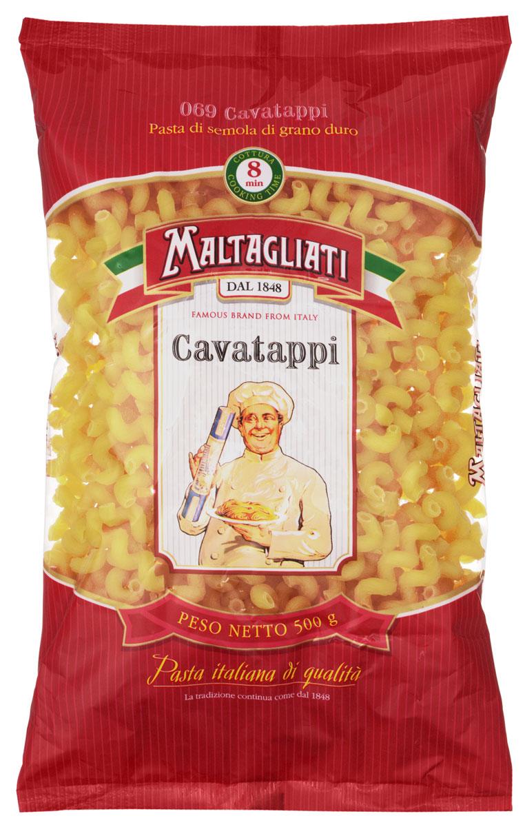 Maltagliati Cavatappi Виток макароны, 500 г8001810903552Макаронные изделия Maltagliati производятся в Италии в Тоскане с 1848 года. Несмотря на то, что Maltagliati - это имя собственное, с начала прошлого века Maltagliati используется в Италии как нарицательное имя для домашней лапши и формата макаронных изделий похожих на домашнюю лапшу. Это самые известные итальянские макаронные изделия на территории Российской Федерации и, вероятно, всего бывшего СССР.