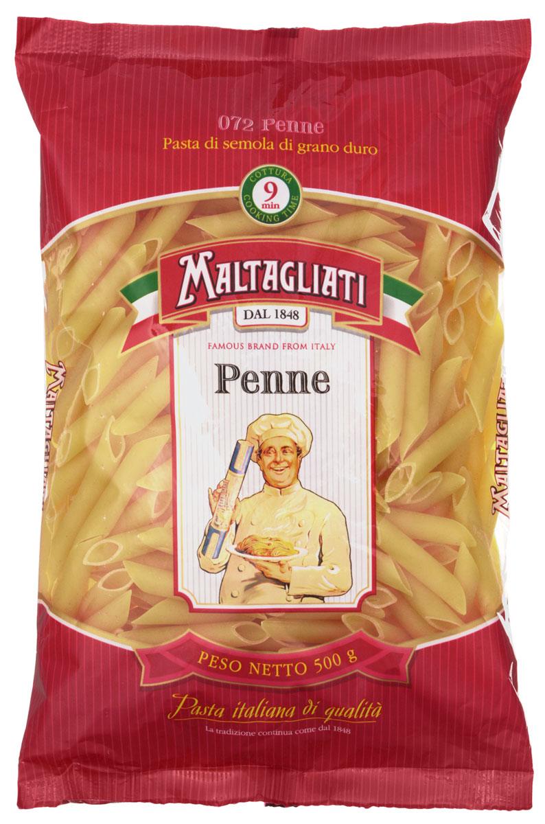 Maltagliati Penne Перья макароны, 500 г8001810903569Макароны - перья Maltagliati 072 производятся в Италии в Тоскане с 1848 года. Макаронные изделия Maltagliati с изображением итальянского повара - самые известные итальянские макаронные изделия на территории Российской Федерации и, вероятно, всего бывшего СССР. Макароны - перья подойдут для приготовления с мясом или овощами и безусловно придутся по вкусу всей семье!