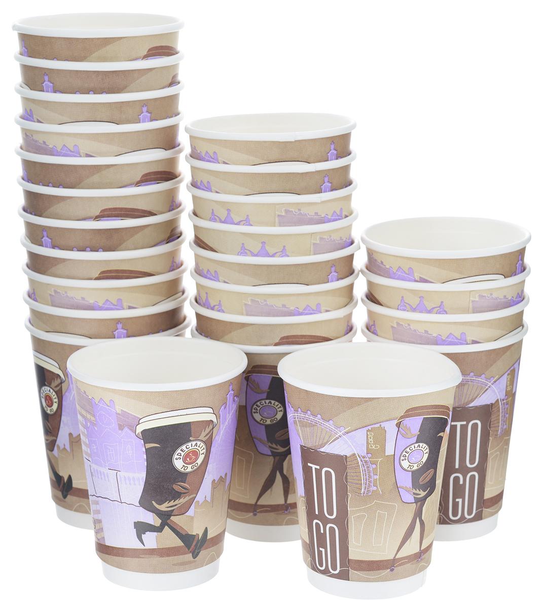 Набор одноразовых стаканов Huhtamaki Coffee Break, 300 мл, 25 штVT-1520(SR)Одноразовые стаканы Huhtamaki Coffee Break изготовлены из плотной бумаги и оформлены оригинальным рисунком. Изделия предназначены для подачи различных напитков. Вы можете взять их с собой на природу, в парк, на пикник и наслаждаться вкусными напитками. Несмотря на то, что стаканы бумажные, они очень прочные и не промокают. Диаметр стакана (по верхнему краю): 9 см.Высота стакана: 11 см.