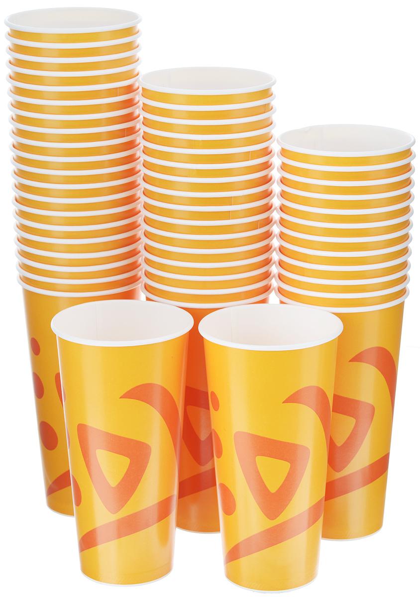 Набор одноразовых стаканов Huhtamaki Whizz, 500 мл, 50 штПОС17901Одноразовые стаканы Huhtamaki Whizz изготовлены из плотной бумаги и оформлены оригинальным рисунком. Изделия предназначены для подачи холодных напитков. Вы можете взять их с собой на природу, в парк, на пикник и наслаждаться вкусными напитками. Несмотря на то, что стаканы бумажные, они очень прочные и не промокают. Диаметр стакана (по верхнему краю): 9 см. Высота стакана: 17 см.