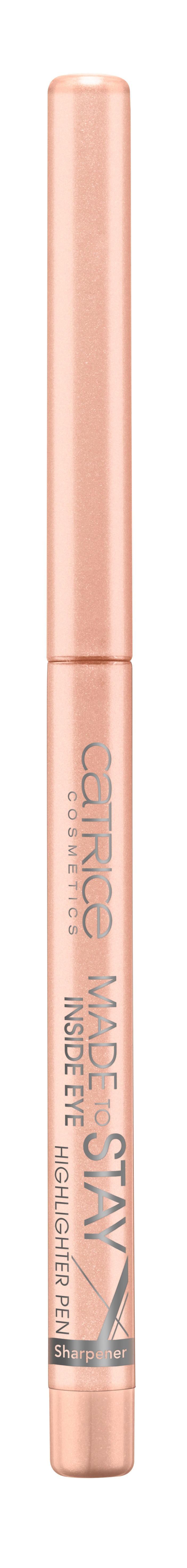 CATRICE Контур для глаз Made Stay Inside Eye Highlighter Pen 010 розово-бежевый, 0,3гр1301210Идеальный карандаш для выполнения макияжа Smokey Eyes. Стойкий, хорошо тушуется, имеет восковую основу. Создает мягкий эффектный контур
