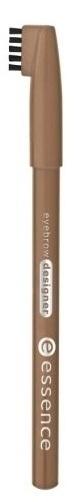 essence Карандаш для бровей eyebrow designer светло-коричневый т.04, 1гр002722Удобная щеточка на колпачке позволяет смоделировать непослушные брови, а также растушевать контур, чтобы сделать линию более естественной. Великолепно сохраняется в течении всего дня .