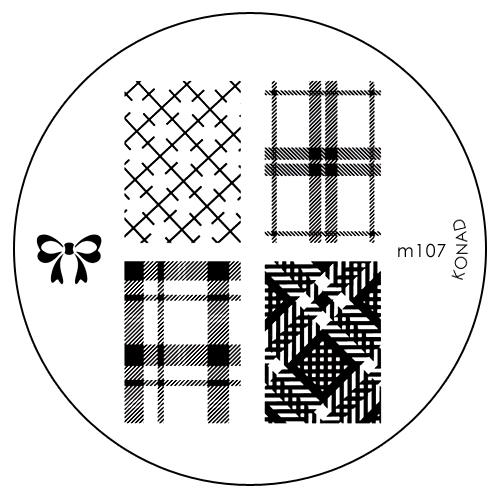 Konad Печатная форма (диск) M107 image plateSN-IPM107Диск для стемпинга. Теперь создавать дизайны на ногтях стало очень просто