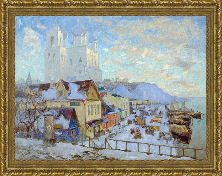 Псков (Горбатов К. И.), 31 x 40 см