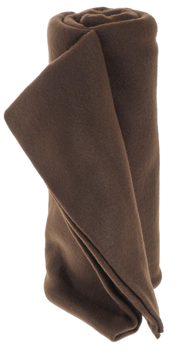 Покрывало флисовое Диана, цвет: шоколад, 130 см х 150 смПФ-Ш-130-150Изящное покрывало Диана, выполненное из флиса (100% полиэстер), гармонично впишется в интерьер вашего дома и создаст атмосферу уюта и комфорта. Флис имеет фактуру велюра, ткань приятная на ощупь, мягкая и слегка пушистая, но при этом очень легкая, хорошо сохраняет тепло, устойчива к стирке и износу. Благодаря мягкой и приятной текстуре, глубоким и насыщенным цветам, такое покрывало станет модной, практичной и уютной деталью вашего интерьера. Покрывало согреет в прохладную погоду и будет превосходно дополнять интерьер вашей спальни. Высочайшее качество материала гарантирует безопасность не только взрослых, но и самых маленьких членов семьи. Покрывало может подчеркнуть любой стиль интерьера, задать ему нужный тон - от игривого до ностальгического. Покрывало - это такой подарок, который будет всегда актуален, особенно для ваших родных и близких, ведь вы дарите им частичку своего тепла!