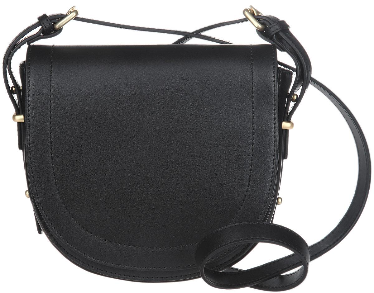 Сумка женская Fiorita, цвет: черный. 0316F0316F blackСтильная женская сумка Fiorita выполнена из натуральной кожи. Изделие имеет одно основное отделение. Внутри содержится прорезной карман на застежке- молнии. Закрывается сумка на широкий клапан с магнитной кнопкой. Снаружи, под клапаном расположен накладной открытый карман. Изделие оснащено плечевым ремнем, который крепится к сумке с помощью металлических пряжек. Длина ремня регулируется. Изделие упаковано в фирменный чехол. Такая сумка дополнит ваш образ и сделает его завершенным.
