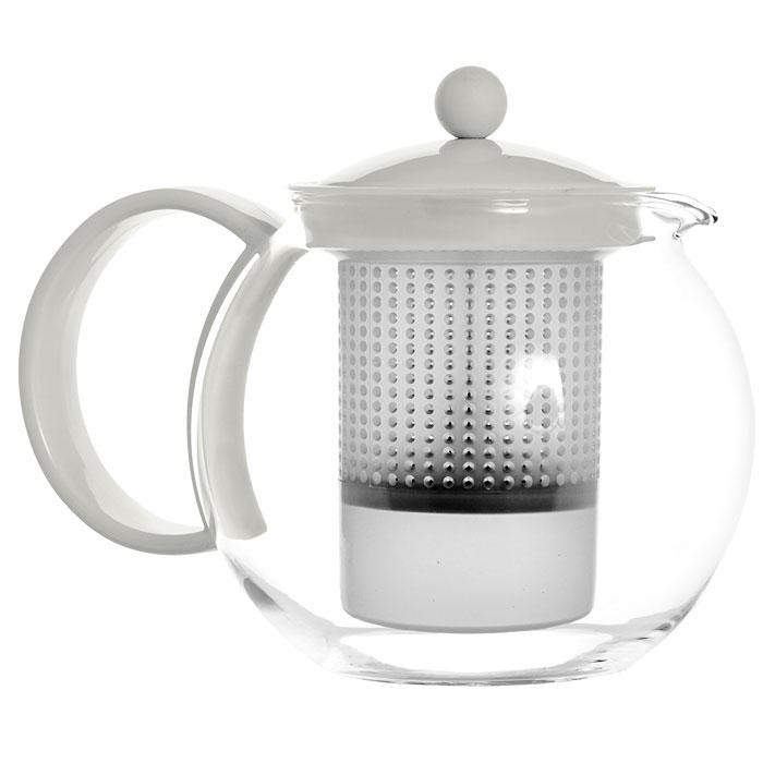 Френч-пресс Bodum Assam, цвет: белый, 1 л. 1844-9131844-913Френч-пресс Bodum Assam, выполненный из стекла, пластика и нержавеющей стали, практичный и простой в использовании. Он займет достойное место на вашей кухне и позволит вам заварить свежий, ароматный чай. Засыпая чайную заварку в фильтр-сетку и заливая ее горячей водой, вы получаете ароматный чай с оптимальной крепостью и насыщенностью. Остановить процесс заварки чая легко. Для этого нужно просто опустить поршень, и заварка уйдет вниз, оставляя вверху напиток, готовый к употреблению. Современный дизайн полностью соответствует последним модным тенденциям в создании предметов бытовой техники. Диаметр френч-пресса по верхнему краю (без учета носика и ручки): 9,5 см. Максимальный диаметр френч-пресса: 15 см. Высота френч-пресса (с учетом крышки): 15 см.