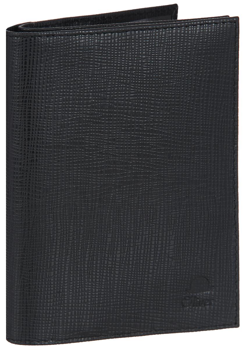 Бумажник водителя мужской Dimanche Oliver, цвет: черный. 071071Мужской бумажник водителя Dimanche Oliver изготовлен из натуральной кожи с фактурным тиснением. Внутри имеется отделение для паспорта с двумя прозрачными карманами, три боковых кармана, блок из прозрачного пластика с пятью файлами для документов водителя, карман для sim-карты и четыре прорезных кармана для визиток и пластиковых карт. Изделие упаковано в фирменную коробку. Такой бумажник не только защитит ваши документы, но и станет стильным аксессуаром, который прекрасно дополнит образ.
