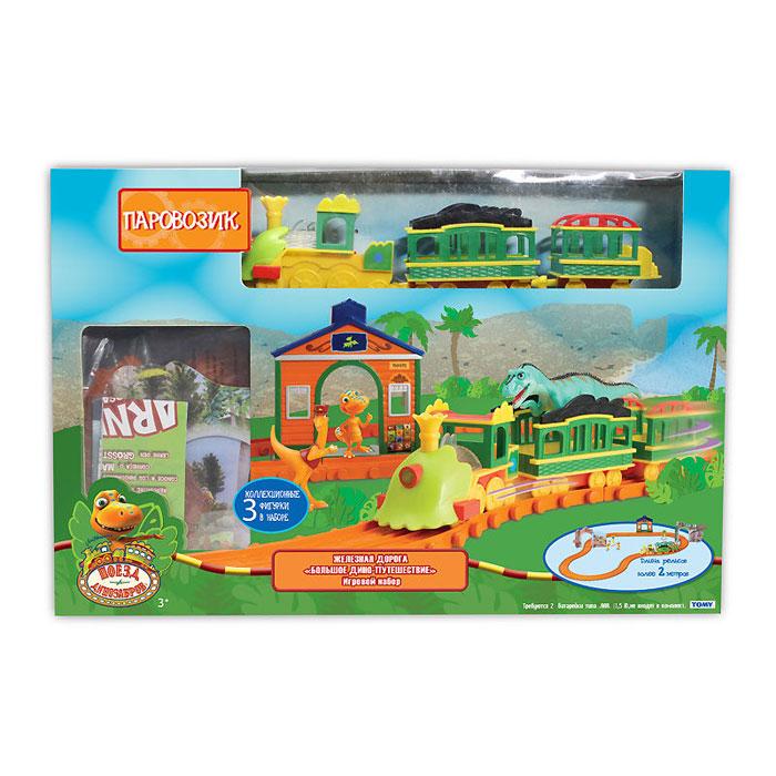 Tomy Игровой набор Поезд Динозавров: Большое дино-путешествие Т57098