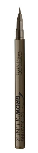 CATRICE Маркер для бровей Longlasting Brow Definer 030 Chocolate Brownie темно-коричневый, 1мл79151Мастерский результат! Инновационный маркер для бровей Longlasting Brow Definer с уникальной жидкой текстурой придает бровям выразительность и естественный цвет. Благодаря сверхтонкому аппликатору Вы с легкостью добьетесь желаемого результата и сможете без особенных усилий подчеркнуть брови и скорректировать их форму