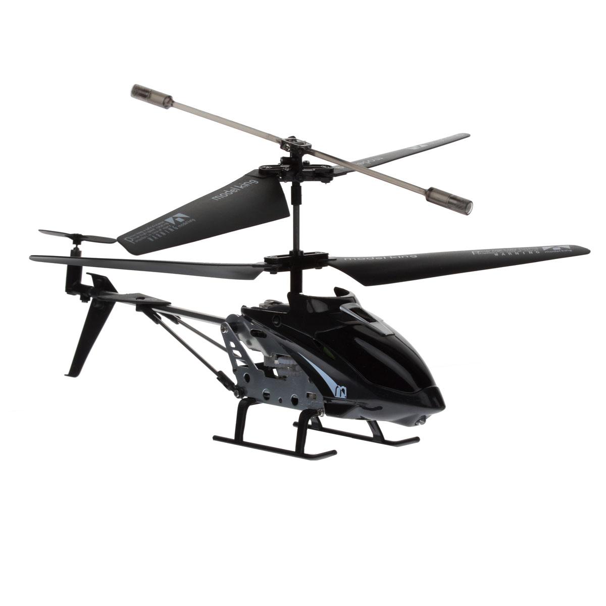 Junfa Toys Вертолет на радиоуправлении Model King цвет черный