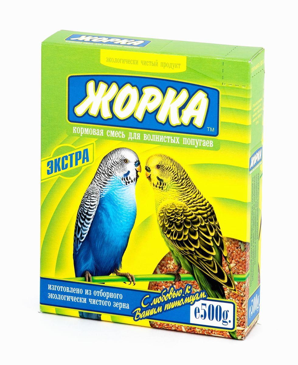 Корм для волнистых попугаев Жорка Экстра, 500 г37Корм для волнистых попугаев Жорка Экстра - это полноценный корм для вашего питомца, состоящий из отборных семян и зерен. Содержит все необходимые витамины и микроэлементы для нормального развития волнистого попугайчика. Ингредиенты: просо, овес, рапс, семя льна, семена луговых трав, зерновые гранулы с медом. Состав: жиры - не более 4%, белки - не менее 13%, клетчатка - не более 14%, влажность - не более 13%, зола - не более 6%. Суточная норма составляет 1 столовую ложку на одну птицу. Товар сертифицирован.