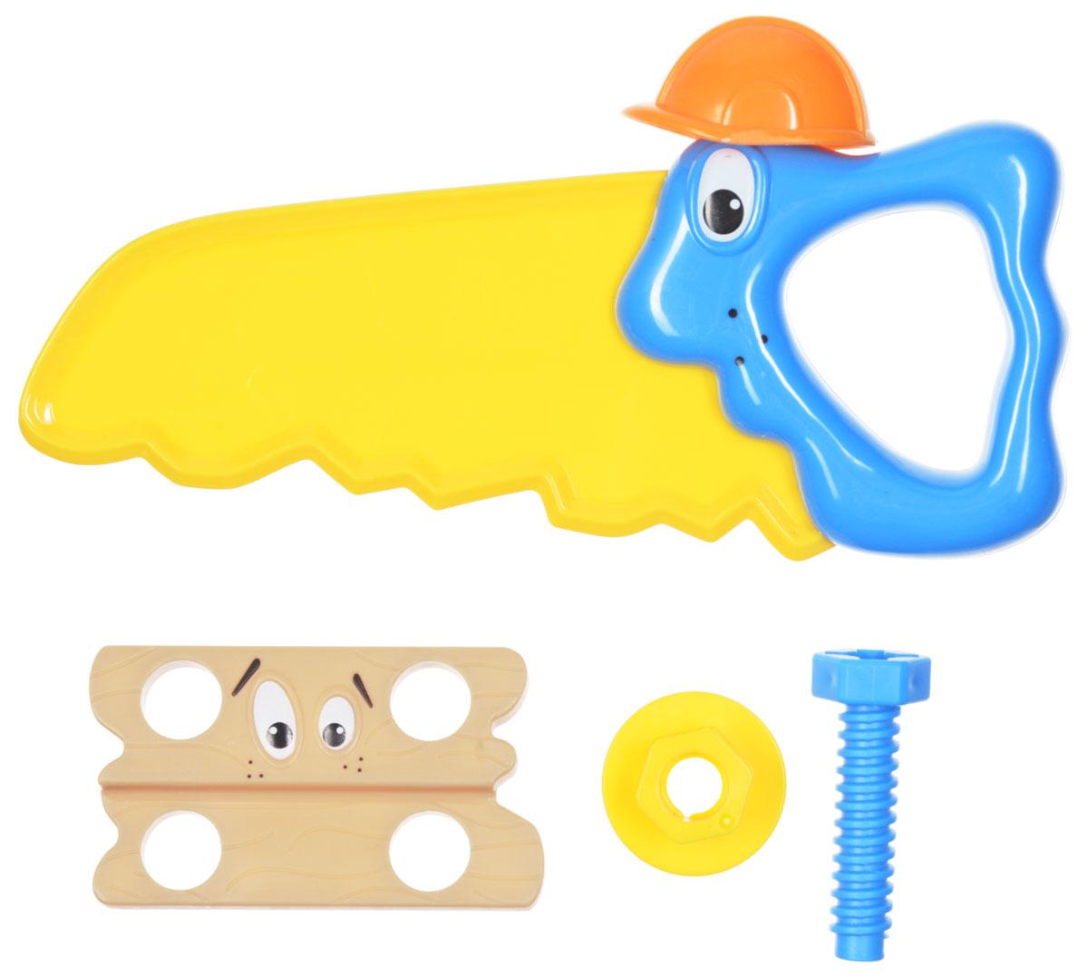 1TOY Игровой набор Профи-малыш цвет желтый голубой