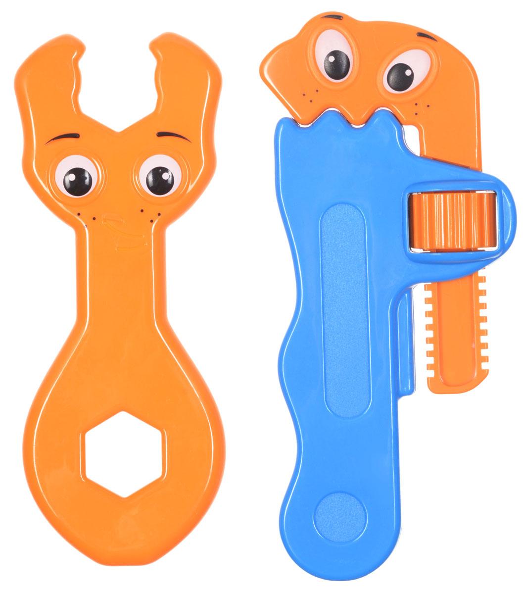 1TOY Игровой набор Профи-малыш цвет оранжевый голубой