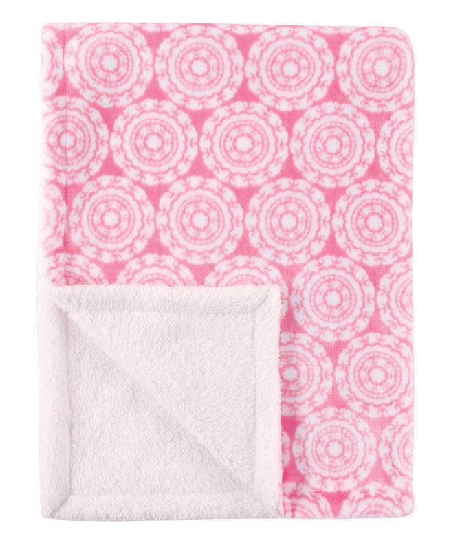 Hudson Baby Плед для девочек, 76 х 102 см, цвет: розовый 50658