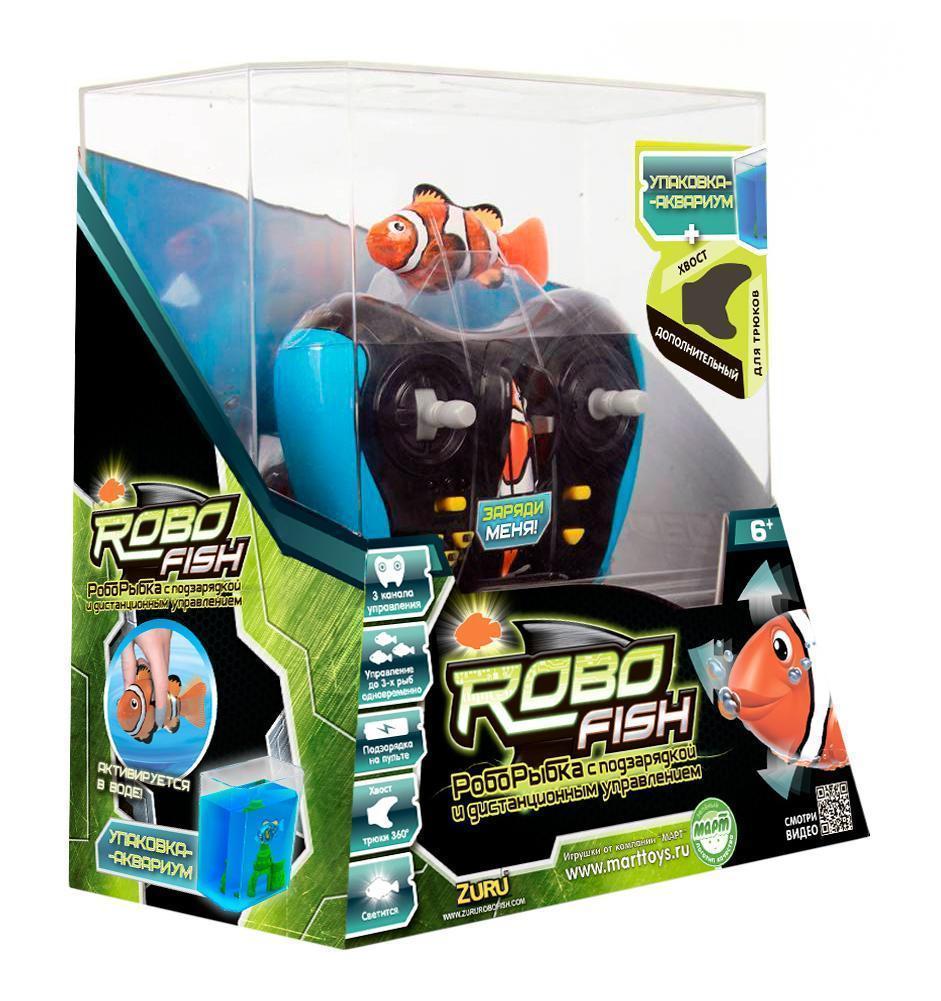 Радиоуправляемая игрушка Robofish