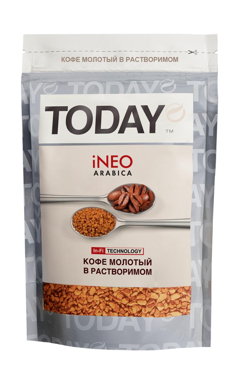 Today Ineo кофе растворимый, 75 г 5060300570202_новый дизайн