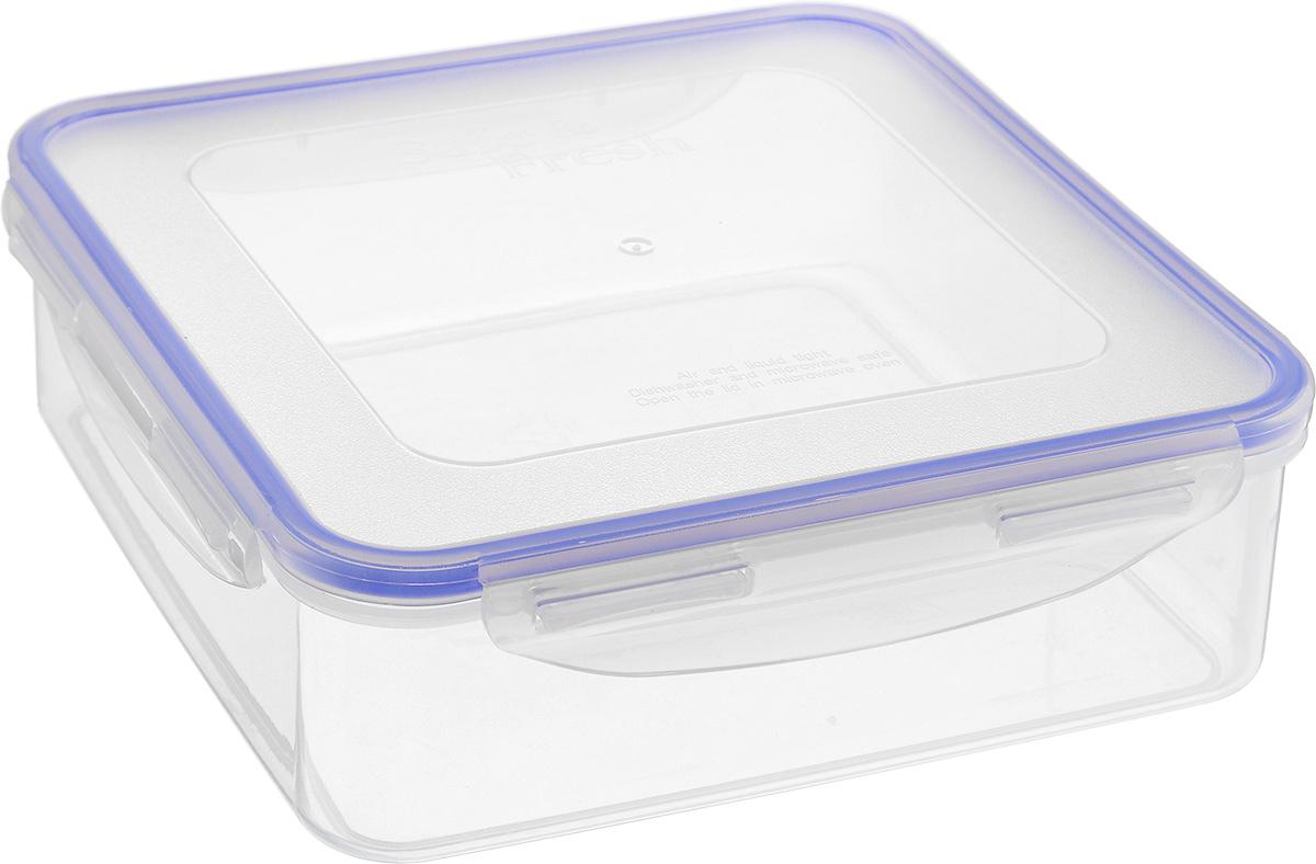 Контейнер пищевой Tek-a-Tek, 1,6 лSF4-1Пищевой контейнер Tek-a-Tek выполнен из высококачественного пластика. Изделие оснащено четырехсторонними петлями-замками и силиконовой прокладкой на внутренней стороне крышки. Это позволяет воде и воздуху не попадать внутрь, сохраняется герметичность. Изделие абсолютно нетоксично при любом температурном режиме. Можно использовать в посудомоечной машине, а так же в микроволновой печи (без крышки), замораживать до -20°С и размораживать различные продукты без потери вкусовых качеств.