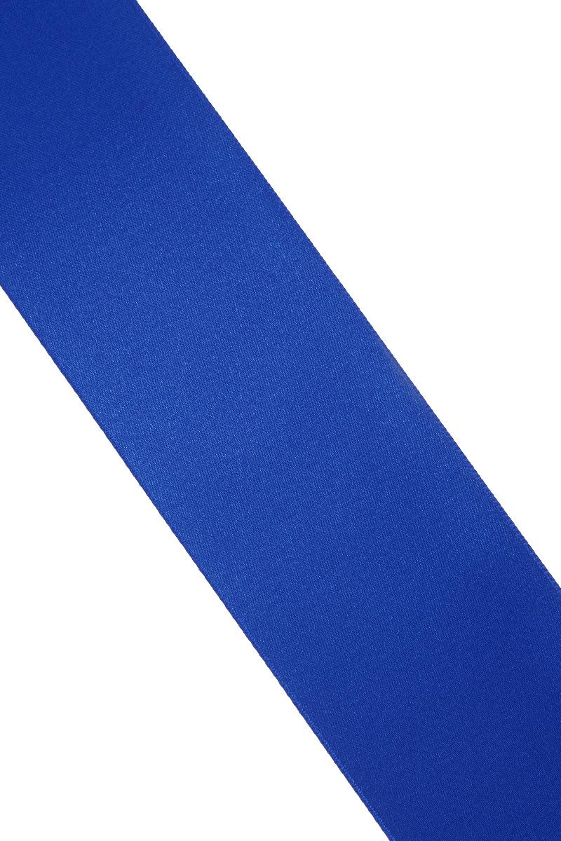 Лента атласная Prym, цвет: ярко-синий, ширина 38 мм, длина 25 м695806_55Атласная лента Prym изготовлена из 100% полиэстера. Область применения атласной ленты весьма широка. Изделие предназначено для оформления цветочных букетов, подарочных коробок, пакетов. Кроме того, она с успехом применяется для художественного оформления витрин, праздничного оформления помещений, изготовления искусственных цветов. Ее также можно использовать для творчества в различных техниках, таких как скрапбукинг, оформление аппликаций, для украшения фотоальбомов, подарков, конвертов, фоторамок, открыток и многого другого. Ширина ленты: 38 мм. Длина ленты: 25 м.