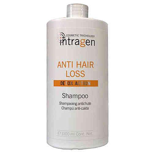 Revlon Professional Intragen INT Шампунь против выпадения волос Anti-Hair Loss Shampoo 1000 млFS-00103Средство с сильным воздействием. Ваши волосы слабые и ломкие? На расческе каждый раз остаются внушительные объемы волос? Этот шампунь укрепит корни волос, напитает кожный покров головы. Минералы и витамины в составе лечебного комплекса глубоко питают волосы по всей длине, препятствуя их ломкости и выпадению. Продукт одинаково хорошо подходит как мужчинам, так и женщинам.