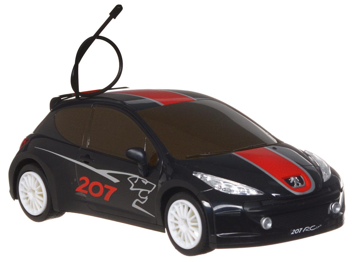 Auldey Rastar Радиоуправляемая модель Peugeot 207 RCUP цвет черный LC258690-0