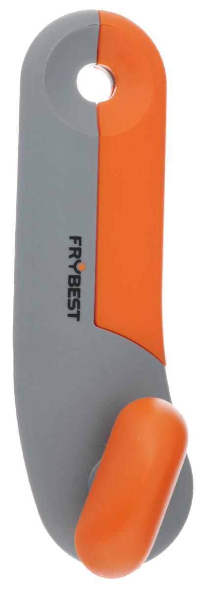 Открывалка для банок Frybest Rainbow, цвет: серый, оранжевыйCM000001328Открывалка Frybest Rainbow выполнена из высококачественной нержавеющей стали и пластика. Прибор легко и безопасно открывает все типы консервных банок, не оставляя заусенцев на краях. Порадуйте себя и своих близких качественным и функциональным подарком.Длина открывалки: 16,5 см.