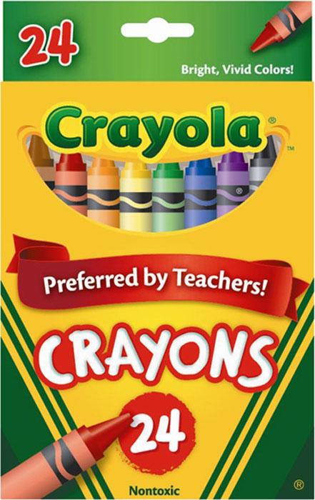 Набор разноцветных восковых мелков Crayola (Краела), 24 штFS-36054Набор восковых мелков Crayola состоит из 24 разноцветных мелков, которые отличаются высокой механической прочностью благодаря двойной обертке. Мелки выполнены в форме карандашей, что делает их использование очень удобным.Восковые мелки предназначены для рисования по бумаге и являются альтернативой привычным цветным карандашам. Они изготовлены из натурального пчелиного воска с добавлением растительных красок, поэтому безвредны для ребенка, даже если он попробует их на вкус. Восковые мелки отлично передают цвета и имеют широкую гамму оттенков. Восковые мелки Crayola обеспечивают качество цвета и линии на уровне лучших цветных карандашей, а в плане цены и практичности значительно выигрывают у последних.