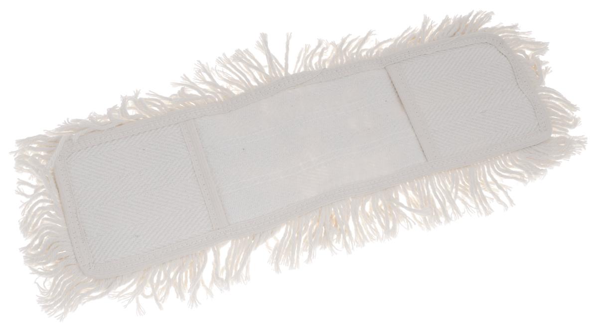 Сменная насадка для швабры Apex Maxi Cotone, цвет: белый, 40 см18020-AСменная насадка для швабры Apex Maxi Cotone выполнена из хлопка и полиэстера. Насадка обладает сверхвпитываемостью, сохраняет свою структуру и форму даже после многократного использования. Такая насадка сделает уборку эффективнее и приятнее. Размеры насадки: 40 см х 14 см х 2 см.
