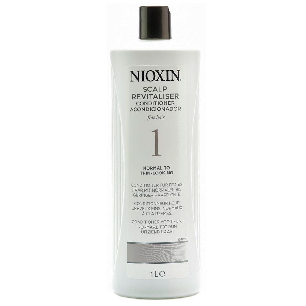 Nioxin Scalp Увлажняющий кондиционер (Система 1) Revitaliser System 1, 1000 млFS-00897Увлажняющий кондиционер Nioxin Система 1 предназначен для ослабленных и тонких волос. Средство содержит питательные масла и энзимы, которые бережно ухаживают за волосами и кожей головы. Кондиционер от Ниоксин придает волосам шелковистость и смягчает кожу головы.