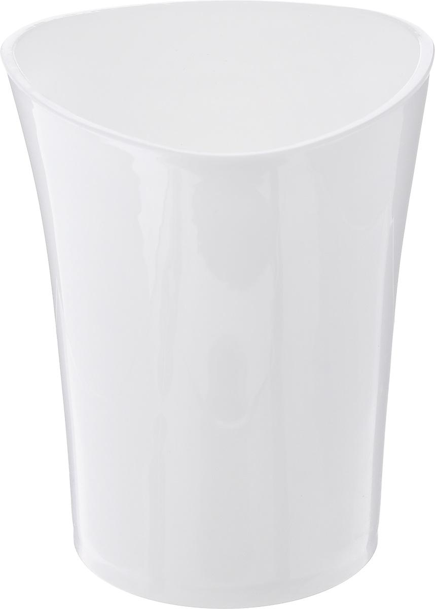 Стакан для ванной комнаты Vanstore Wiki White, цвет: белый, высота 10 см355-01Стакан для ванной комнаты Vanstore Wiki White изготовлен из высококачественного пластика. В изделии удобно хранить зубные щетки, пасту и другие принадлежности. Такой аксессуар для ванной комнаты стильно украсит интерьер и добавит в обычную обстановку яркие и модные акценты. Размер стакана: 8 х 8 х 10 см.