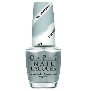 OPI Лак для ногтей Color Paints-Silver Canvs, 15 млNLP19Лак для ногтей OPI быстросохнущий, содержит натуральный шелк и аминокислоты. Увлажняет и ухаживает за ногтями. Форма флакона, колпачка и кисти специально разработаны для удобного использования и запатентованы.
