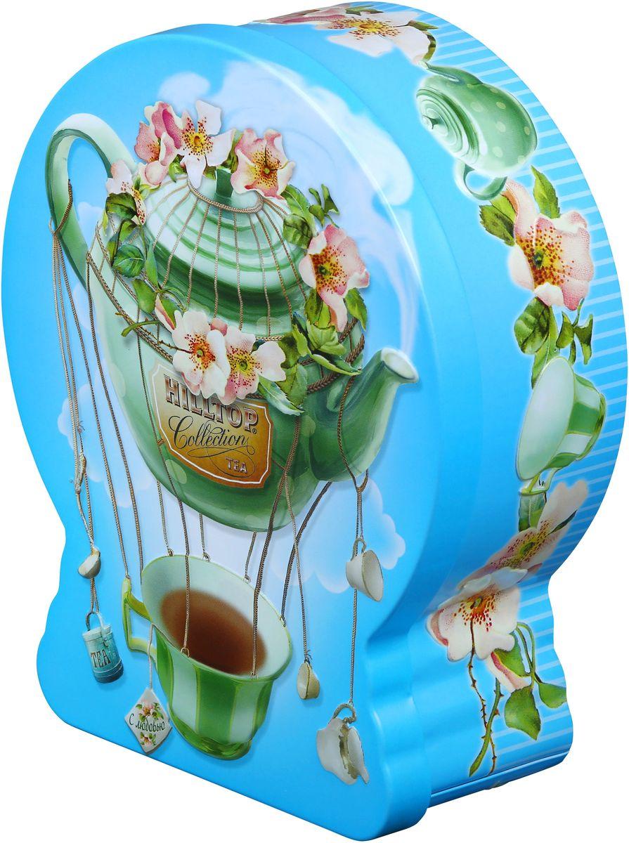 Hilltop Чайный дирижабль Чай с чабрецом черный листовой чай, 100 г4607099303805Hilltop Чайный дирижабль - крупнолистовой цейлонский черный чай с листьями и тонизирующим ароматом чабреца. Благодаря красивой праздничной упаковке вы можете подарить этот прекрасный чай своим друзьям и близким.
