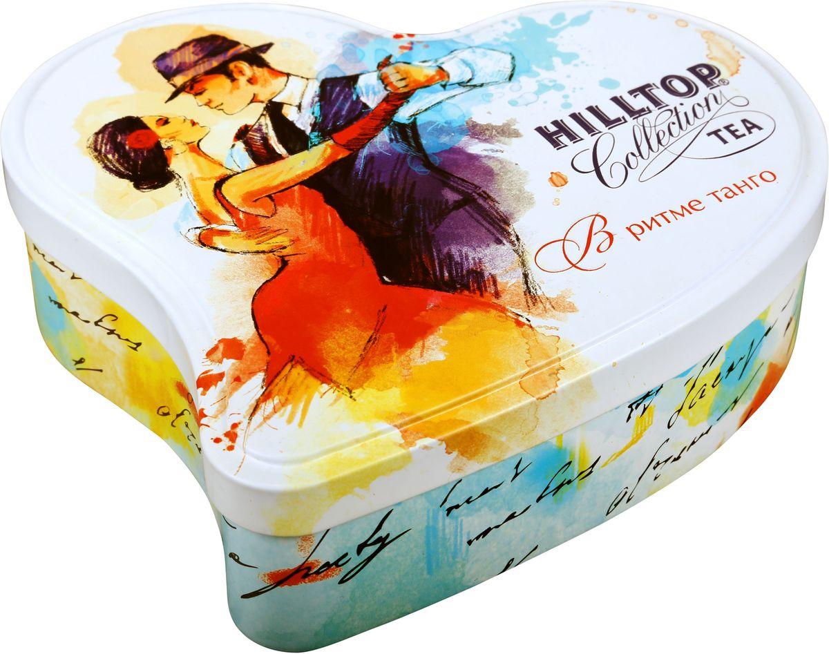 Hilltop В ритме танго Манго черный листовой чай, 100 г4607099303843Крупнолистовой черный байховый чай Hilltop В ритме танго Манго с ярким ароматом тропического манго, с добавлением кусочков манго и лепестков подсолнечника.