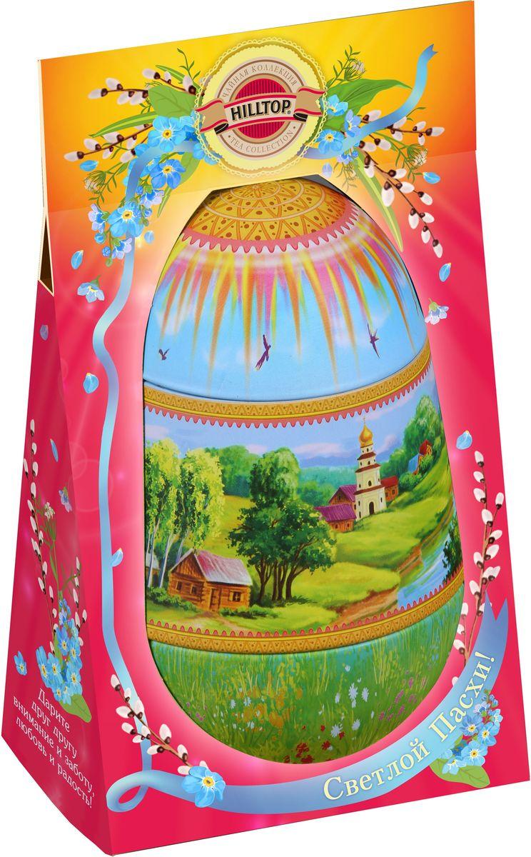 Hilltop Солнечный пейзаж черный листовой чай, 80 г101246Hilltop Черный лист — особо крупнолистовой цейлонский черный чай с насыщенным ароматом и терпким послевкусием, который прекрасно взбодрит и освежит в течение всего дня. Подарочная упаковка Солнечный пейзаж позволит вам подарить этот чай своим друзьям или близким на праздник.